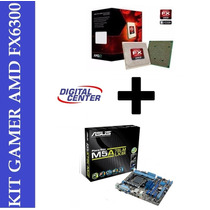 Kit Asus M5a78l-m Lx Bulldozer X6 Fx-6300 3.5 Ghz 14 Mb 6 Co