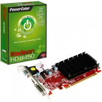 Vga Powercolor Radeon Hd6450 1024mb Ddr3 Hdmi+vga+64bits Pci