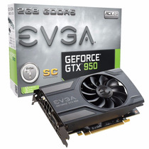 Placa De Video Evga Geforce Gtx 950 Sc Acx 2.0 2gb Gddr5