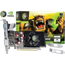 Placa De Video Geforce Nvidia 8400 Gs 1gb Ddr2 64 Bits - V
