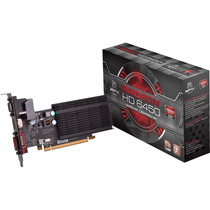 Placa De Vídeo Vga Xfx Radeon Hd6450 1gb Ddr3 Pci-express