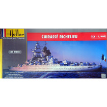 Navio Encouraçado Richelieu 1/400 Heller Tipo Kit Revell