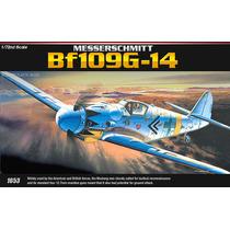 Avião Messershmitt Bf-109 G14 1/72 Academy = Revell E Tamiya