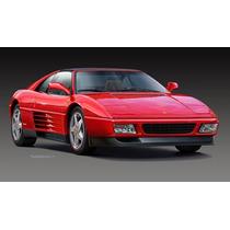 Revell-carro Ferrari 348 Ts-lacrado