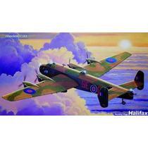 Bombardeiro Inglês Raf Segunda Guerra Halifax - Kit 1/72