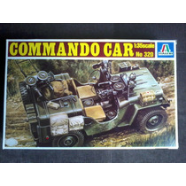 Italeri. Jeep Commando Car. Esc 1.35. Kit Para Montar.novo.