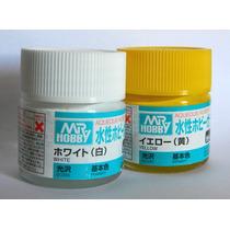 Tinta Acrílica Mr.hobby P/ Kits Tipo Revell, Tamiya, Fujimi,