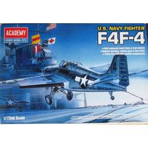 Avião F-4f Wildcat Academy 1/72 Kit Tipo Revell E Tamiya