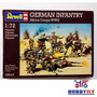 German Infantry Africa Corps Wwii 1/72 - Revell