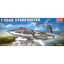Avião F-104 Starfighter Academy 1/72 Kit Tipo Revell