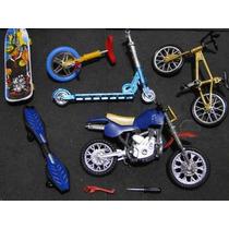 Skate Dedo Bicicleta Motocicleta Patinete Monociclo Manobra