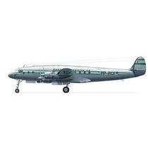 Avião Lockheed Constellation L-649 Panair Do Brasil