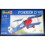 Caça Alemão Primeira Guerra Fokker D Vll - Kit 1/72 Revell