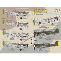 Decais P-40 Na Fab Segunda Guerra Até 1953 - Escala 1/32 Fcm