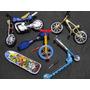Motocicleta Monociclo Skate De Dedo Bicicleta Patinete