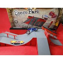 Nova Pista Original Sbego Park Com Skate & Bike Acessorios