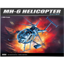 Helicoptero Hughes Mh-6 Stealth Academy 1/48 Tipo Kit Revell