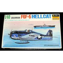 Caça Naval Segunda Guerra Grumman F6f-5 Hellcat 1/48 Fujimi
