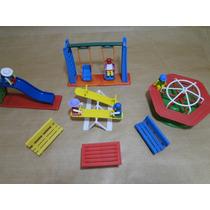 Miniatura Parque Parquinho Peppa Lego Playmobil