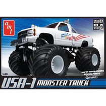 Plastimodelismo Usa1 4x4 Monster Truck Escala 1/25 Freehobby