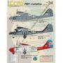 Decais Fcm Pby Catalina 1/144 - Fab E Marinha Argentina