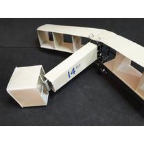 14 Bis Metal Santos Dumont Possui Comp.30cm Por Enverg.43cm