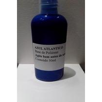 Tinta Azul Atlântico Metálico Max 50ml Para Plastimodelismo