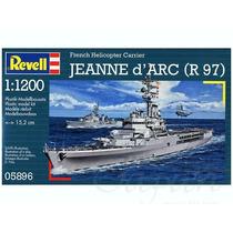 Revell Escala 1/1200 - Navio Cruzador Francês Jeanne D