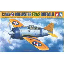 Avião Brewster Buffalo F2a2 1/48 Tamiya Kit Tipo Revell