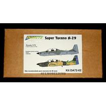 Embraer A-29 Super Tucano - Kit 1/72 Em Resina Duarte Models