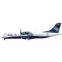 Avião Atr 72 Azul Linhas Aéreas Brasileiras