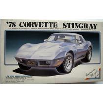 1978 Corvette Stingray - 1/24 - Arii - Kit Raro