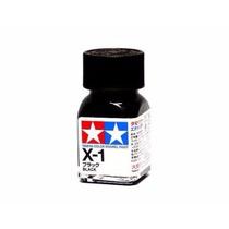 Tinta Esmalte Tamiya Enamel X-1 Black - 10ml Frete Baixo!