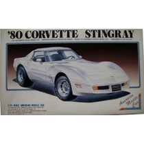 1980 Corvette Stingray - 1/24 - Arii - Kit Raro