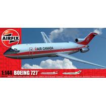Avião Boeing 727 1/144 Airfix Kit Tipo Revell E Tamiya