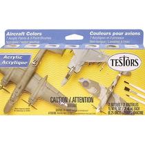 Tintas Testors Acrílicas Foscas P/aviação - Tes 9188