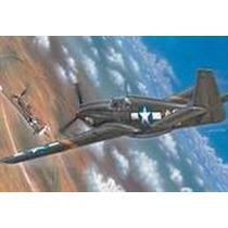 Plastimodelismo P-51 / F-6a Mustang Escala 1/72 Freehobby