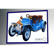 Placa Decorativa 38x27cm * Alfa Romeo 1911 * Photo