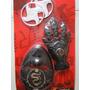 Fantasia Armas Ninja Dragão Vermelho Mascara 2 Estrelas