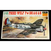 Caça Alemão Segunda Guerra Focke-wulf Fw-190 1/48 Fujimi
