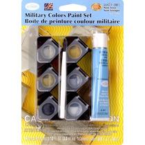 Set De Tinta Militar 6 Cores Testors