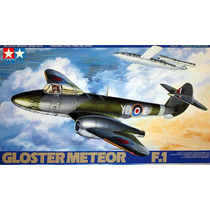 Avião Gloster Meteor F.1 Tamiya 1/48 Tipo Kit Revell