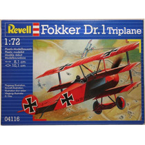 Kit Plastimodelo Fokker Dr. I Triplane 1/72[revell 04116]