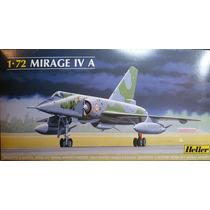 Avião Mirage Iv A Heller 1/72 Kit Tipo Revell E Tamiya