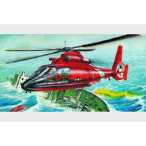 Kit Trumpeter Us Hh-65a Dolphin - 1/48