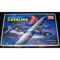 Avião Anfíbio Segunda Guerra Pby-4 Catalina Kit 1/72 Academy