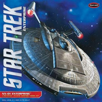 Model Kit - Star Trek - Nx-01 - Psfmonteiro - Esc 1/350 Novo