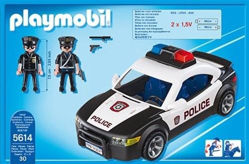 playmobil 5614 police car vehicle novo lacrado importado r 209 00 no mercadolivre. Black Bedroom Furniture Sets. Home Design Ideas
