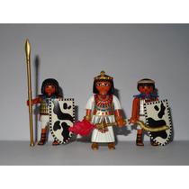 Playmobil Egito Cleópatra + 2 Soldados