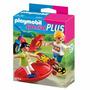 Playmobil Special Plus Skatista E Ciclista Original Sunny!